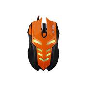 剑圣一族 X3 USB电竞游戏鼠标笔记本电脑有线大鼠标CF加重LOL专用 火力橙