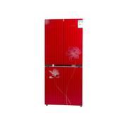 上菱 BCD-435G 435升四门对开门冰箱(红色)