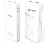 迪诺特(DENOTO) Q7 直插联通SIM卡直插网线 3G无线路由器WiFi移动电源充电宝白色 10000mAh