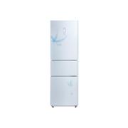 美的 BCD-236TGESM(E) 236升三门冰箱(白色)