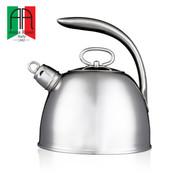 安娜露丝(AnnaRossi) 3.0L大容量不锈钢水壶 空心柄橄榄壶 家用厨房炉具