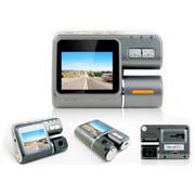 泰洋星 车载行车记录仪停车监控带夜视1080P高清汽车黑匣子 双镜头 标配不带卡