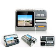 泰洋星 车载行车记录仪停车监控带夜视1080P高清汽车黑匣子 双镜头 带8G卡