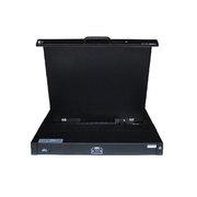 LEZOA 19寸单口抽取式LCD KVM三合一LKX901
