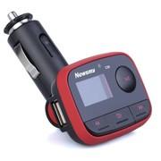 纽曼 C26 车载MP3 4G+车充+U盘扩展槽 断点记忆 文件夹播放 另再赠送保险管 红色