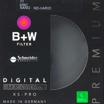 B+W 77 MRC NANO ND-VARIO 多膜 纳米 超薄 可调 减光镜产品图片主图