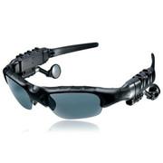 现代演绎 G500 蓝牙眼镜 立体声听歌 打电话司机必备 太阳镜墨镜 偏光眼镜 一年换新 黑色 官方标配