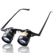 more-thing 10倍眼镜式望远镜/钓鱼望远镜微光夜视 蓝膜眼镜