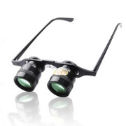 more-thing 10倍眼镜式望远镜/钓鱼望远镜微光夜视 绿膜眼镜