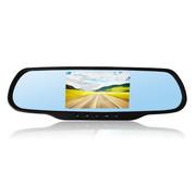 罗波特 行车记录仪电子狗一体机 GPS安卓导航仪1080P双镜头高清广角夜视 标配+24小时+后视镜倒车影像