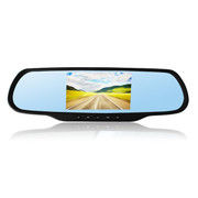 罗波特 行车记录仪电子狗一体机 GPS安卓导航仪1080P双镜头高清广角夜视 标配+后视镜倒车影像