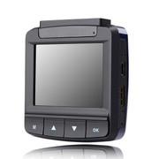 乔氏 行车记录仪高清170度超广角夜视 360度旋转镜头行车仪 极致黑 广角170度 16G