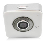 SIV E9000无线WIFI摄像机 点对点 高清微型迷你远程监控摄像机 车上用更方便 白色