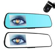 驭道者 6S后视镜行车记录仪 双镜头 夜视1080P 高清 安卓GPS导航一体 旗舰版双镜头+16G卡监控线