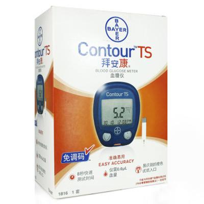 拜耳 拜安康Contour TS血糖仪产品图片1