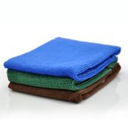 车仆 40*40cm超细纤维洗车毛巾(3条)擦车巾 不掉毛不退色洗车毛巾 洗车用品 打蜡擦车