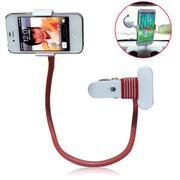 耐实达 手机懒人支架 车用 苹果5 小米2 诺基亚 HTC 三星 iphone4S 支架 绛红色