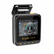 黑金刚 990D高清1080P行车记录仪固定流动测速高清广角夜视 行车记录仪电子 标配+电子狗+32G高速存储卡