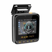 黑金刚 990D高清1080P行车记录仪固定流动测速高清广角夜视 行车记录仪电子 标配+电子狗+16G高速存储卡