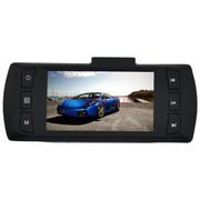 一航达 T25 行车记录仪 双镜头 高清1080p广角夜视 24小时停车监控 .灰色 标配无卡