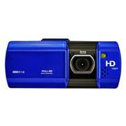 一航达 T25 行车记录仪 双镜头 高清1080p广角夜视 24小时停车监控 蓝色 官方标配+8G卡