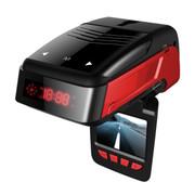 金司令 T19 行车记录仪雷达侦测固定流动一体机高清摄像超强夜视1080P 行车记录仪+16G金士顿TF卡