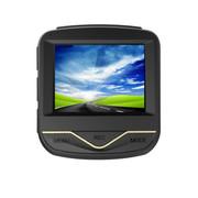 哈达 AD801汽车载行车记录仪高清1080P超广角140度夜视24小时停车监控 土豪金标配+无卡