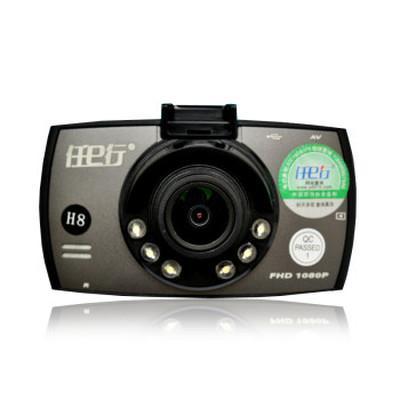 任e行 行车记录仪 H8夜视王 1080P全高清广角 标配+32G卡+送豪华礼包产品图片1