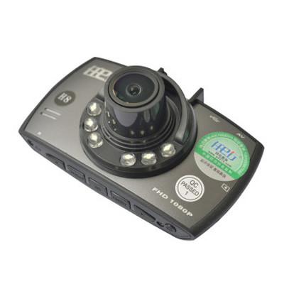 任e行 行车记录仪 H8夜视王 1080P全高清广角 标配+32G卡+送豪华礼包产品图片2