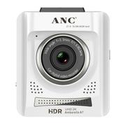 ANC 行车记录仪 安霸A7处理器 HDR1080P高清广角夜视 触发监控超长待机A728 白色 时尚版+触发监控+32G+礼包