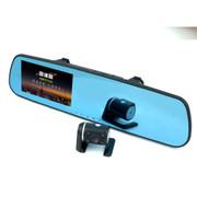 瑞臺雷达眼 B620 后视镜高清1080P双镜头行车记录仪 停车监控 倒车后视 蓝镜防炫目 黑色 官方标配+无卡