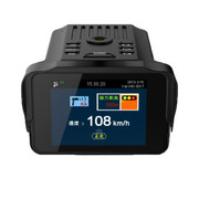 君易达 GH908行车记录仪电子狗一体机 行车安全预警仪GPS轨迹 高清夜视记录仪测速三合一 电子狗行车记录仪一体机+32G