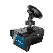 中恒 【厂家直销】SL650 电子狗行车记录仪一体机 夜视高清鱼眼广角170度 1080P 超广角鱼眼32G高速版
