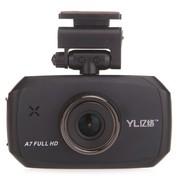 亿络 E766C 行车记录仪 1080P全高清170°超广角带夜视 黑色