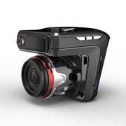 君易达 A7安霸 高清行车记录仪电子狗一体机 170度超广角超清夜视 固定流动测速三合一体机 安霸方案一体机