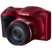 佳能 PowerShot SX400 IS 数码相机红色(1600万像素 30倍变焦 24mm广角)