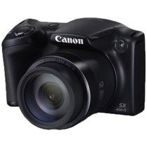佳能 PowerShot SX400 IS 数码相机黑色(1600万像素 30倍变焦 24mm广角)产品图片主图