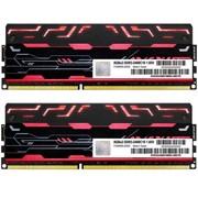 宇帷 BLITZ系列 火焰红 DDR3 2400 16GB(8G×2条)台式机内存(AVD3U24001008G-2BZ1R)