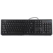 联想 K4803A 防水多媒体有线键盘 个性时尚 经久耐用 黑色