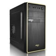 爱国者 嘉年华V7MINI系列机箱黑色(标配12CM黑框白页风扇/USB3.0/支持SSD固态硬盘)