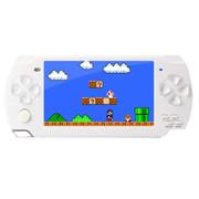 小霸王 PSP游戏机炫影79 4.3寸屏内置9000款经典游戏支持下载带摄像 儿童GBA掌机 白色8G版本