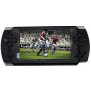 小霸王 PSP掌上游戏机倚天舰208 可拆卸电池8G内存4.3寸屏新款超薄 含对战游戏手柄 黑色8G版本+16G卡