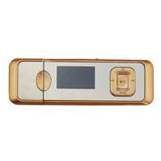 小霸王 数码MP3播放器G12 1.1寸屏支持U盘TF直插带FM收音录音 金色标配+8卡