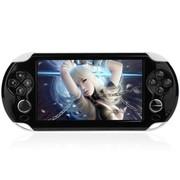 小霸王 智能掌上游戏机炫影69 5寸电容屏安卓平板PSP带WIFI 黑色8G版本