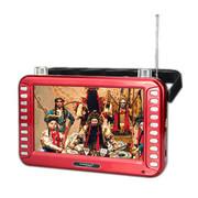 紫光电子 7英寸高清视频播放器 大喇叭插卡音箱 老人唱戏 老年看戏机  大妈广场舞 加8GTF卡