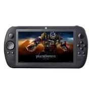 小霸王 智能掌上游戏机700 7寸高清电容屏 安卓平板电脑PSP掌机带WIFI摄像头MP5 黑色16G版