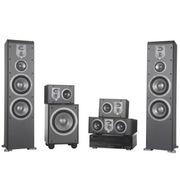 JBL ES80BK+ES10BK+ES25CBK+E150PBK+AVR 70C 5.1家庭影院ES系列 (黑色)
