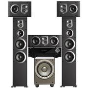JBL ES90BK+ES10BK+ES25CBK+E150PBK+AVR151 5.1家庭影院ES系列(含功放机)黑色