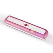 博皓 便携式UV外线牙刷消毒器 牙刷杀菌消毒架 牙具座 牙刷盒 2020 魅力红