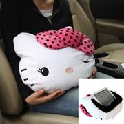 凯蒂猫 Hello Kitty系列 KT 大娇点系列车用多功能IPAD平板用抱枕 粉红色